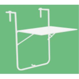 """Altan hænge bord 60 x 53 cm. fåes i Hvid eller Sort """"Tavo"""" (221A+221B)"""