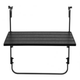 Altan hænge bord  60 x 40 cm. i sort (220B)