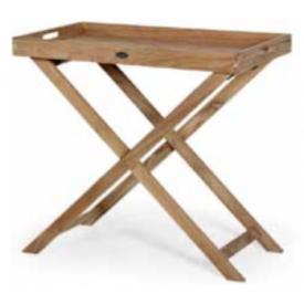 """Bakkebord i ægte Teak-træ """"Turin"""" (207B)"""