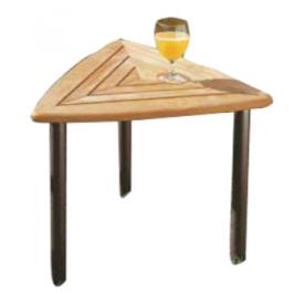 """3-kantet sidebord med Teak-træs plade """"Andy"""" (207A)"""
