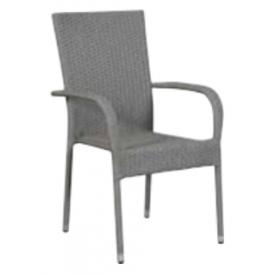 "Høj Stabelbar stol Grå ""Joakim"" (138B)"