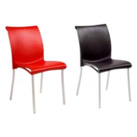 "Stol i Antrasit eller Rødt ""Centa"" Fra NARDI 2stk (128A+128B)"
