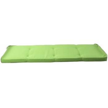 Hynde Lime grøn Polyester 3 Pers. Sædehynde 150 x 45 cm. Højde syet 7 cm tyk.  (boks)