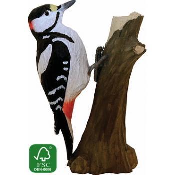 Fugle i træ - Stor Flagspætte