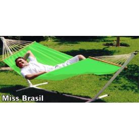 """Miss Brasil  """"DURACORD""""  Hænge-KØJE Ensfarvet Lime 80 cm pind, 200 x 140 cm.  (546A)"""
