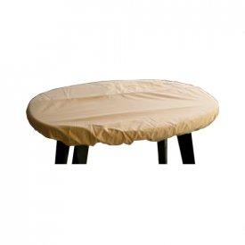 Overtræk til rund bordplade Ø 152x10 cm. Ecru