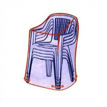 Overtræk til 6 - 8 stole i stabel